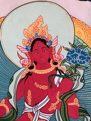 Red Tara Thangka (TGTH 37)