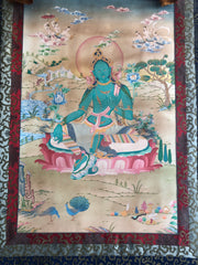 Green Tara Thangka (TGTH 144)