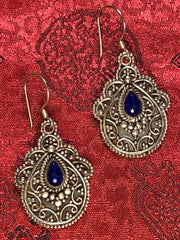 Silver Lapis Earrings(TGSE 24)