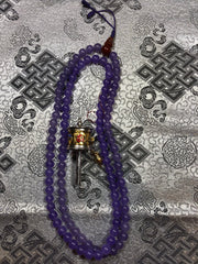 Purple Zed Mala/Prayer Beads(TGMA 50)