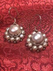 Pearl Silver Earrings(TGSE 41)