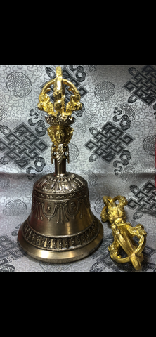 Bell and Dorje/Vajra 5 Crown(TGBD 1)