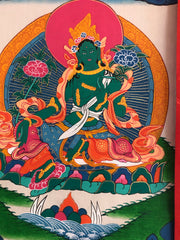 Green Tara Thangka (TGTH 68)