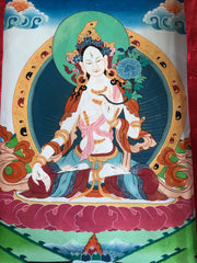 White Tara Thangka (TGTH 110)