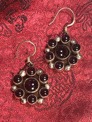 Amethyst Silver Earrings(TGSE 80)