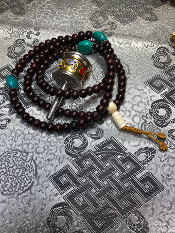 Rosewood Mala/Prayer Beads(TGMA 69)