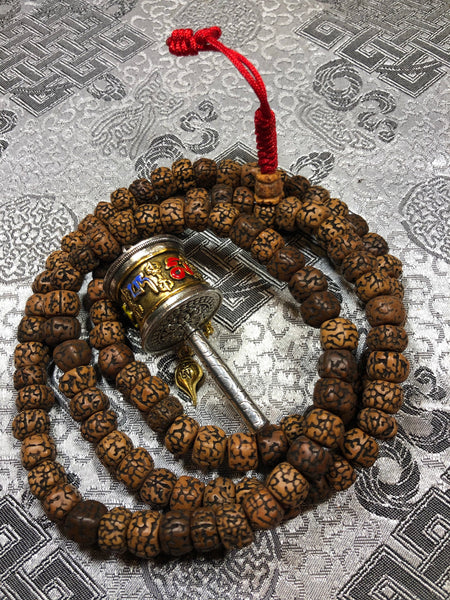 Raktu Seed Mala/Prayer Beads(TGMA 54)