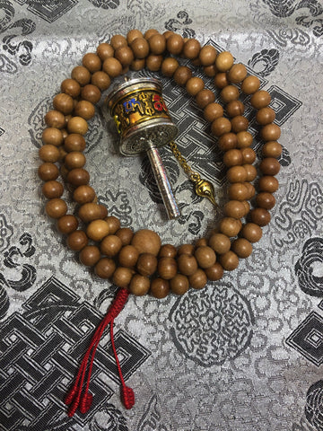 sandalwood Mala / Prayers Beads ( TGMA 2 )