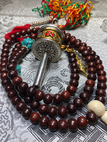 Rosewood Mala/Prayer Beads(TGMA 67)