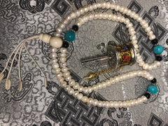 Pearl Mala / Prayer Beads ( TGMA 23 )