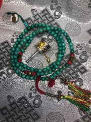 Turquoise Mala / Prayer Beads (TGMA 21 )