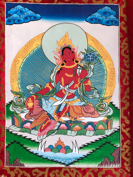 Red Tara Thangka (TGTH 44)