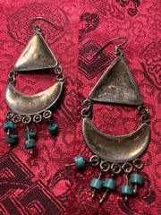 Silver Turquoise Earrings(TGSE 20)