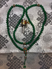 Green Zed Mala/Prayer Beads(TGMA 49)