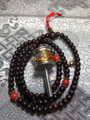 Rosewood Mala/Prayer Beads(TGMA 68)