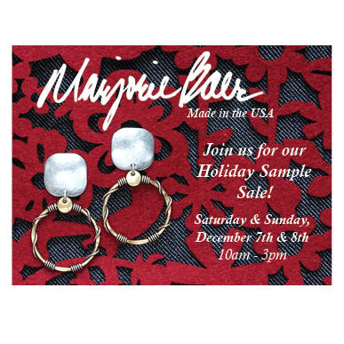 Marjorie Baer Holiday Sample Sale
