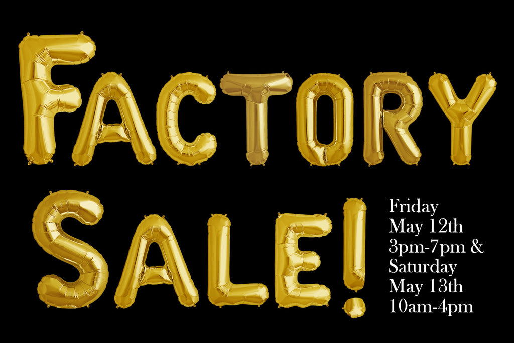 Spring Factory Sale!