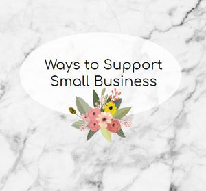 Ways to Support Small Businesses Like Marjorie Baer Right Now