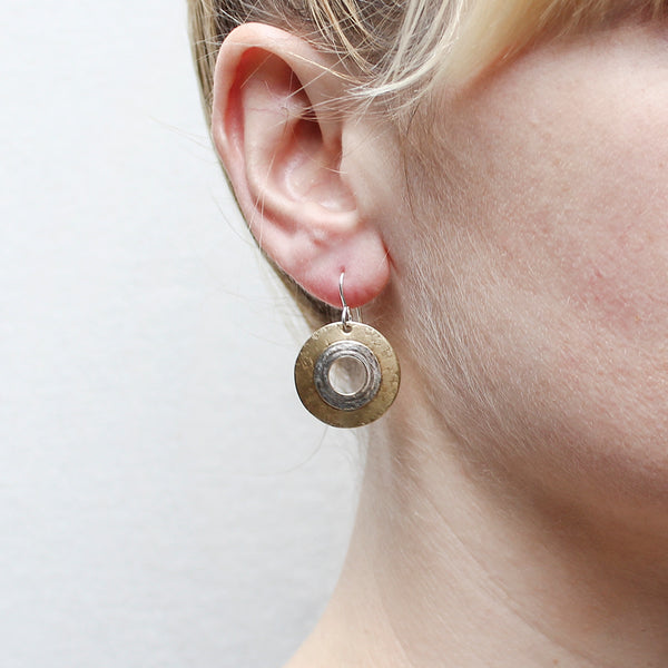 Layered Wide Rings Wire Earring