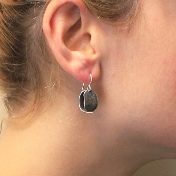 Layered Ovals Earring