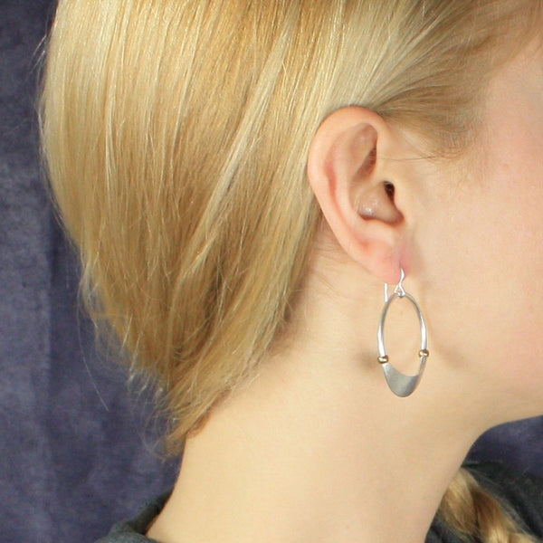 Hoop with Beads Earring