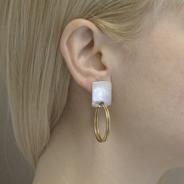 Rounded Rectangle with Double Hoops