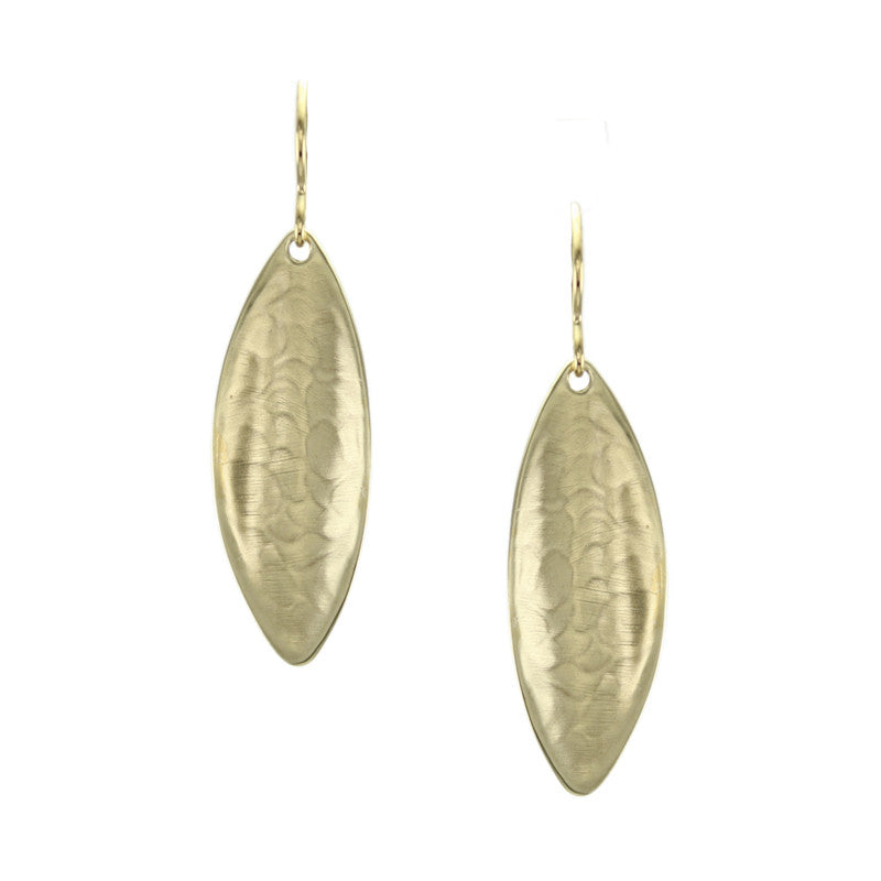 Concave Leaf Earring