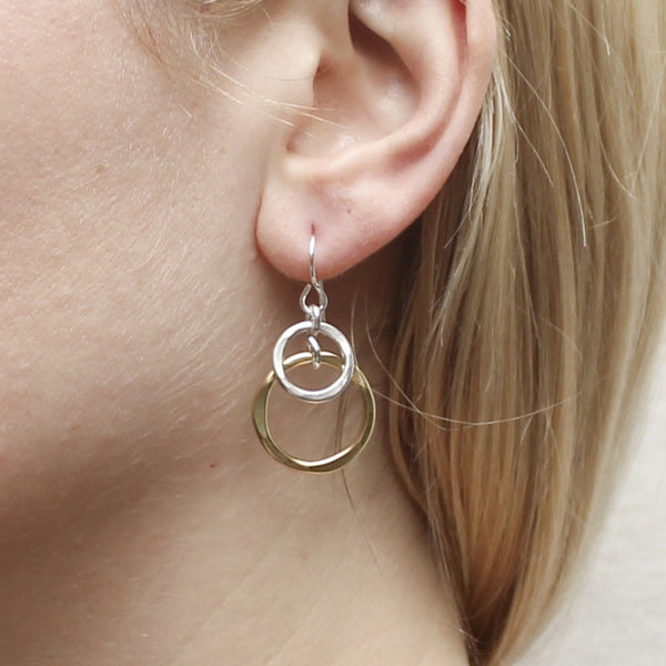 Tiered Layered Rings Earring