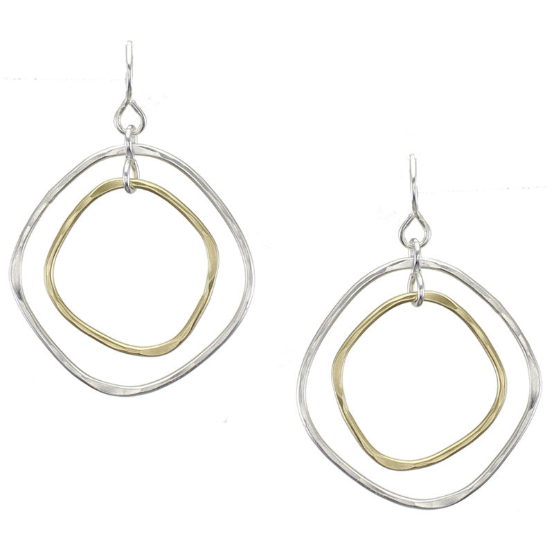 Organic Rings Earring