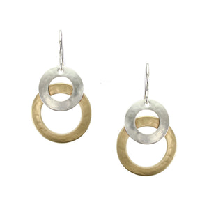 Layered Wide Rings Earring