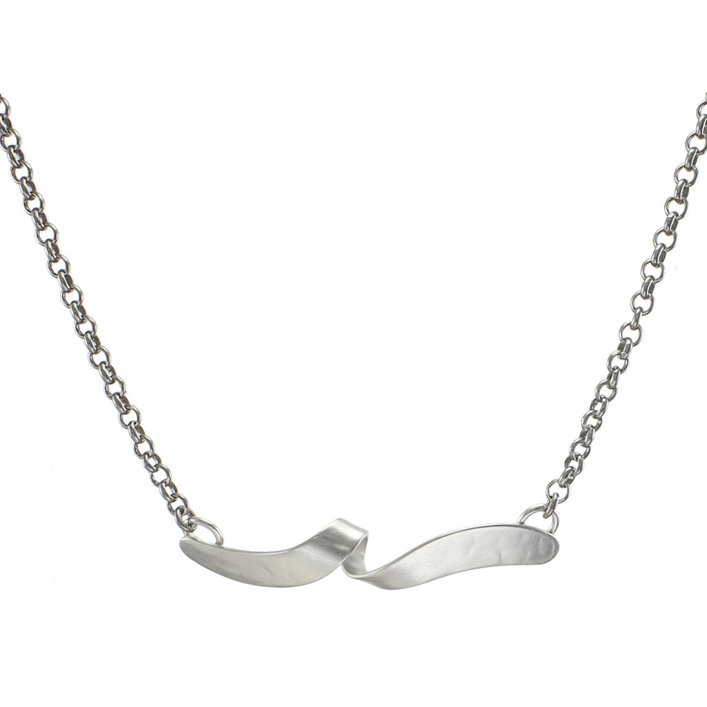 the twist sterling products adelina necklace