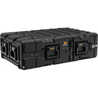 Pelican-Hardigg Super-V-Series-3U Double End Rackmount Case