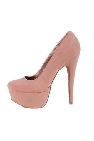 Qupid Penelope 01 Blush Pump