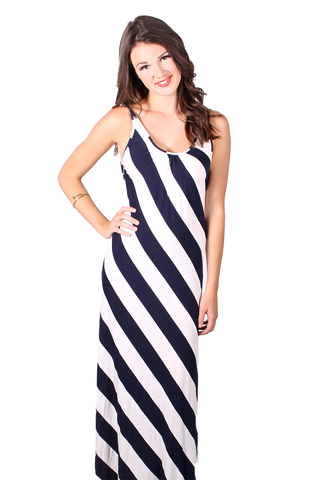 Nautical Maxi in Navy