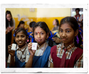 India Non-Profit Update: How soap is improving gasto problems in children