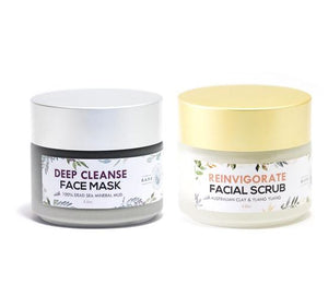 royal treatment duo: mask + scrub (seconds sale)