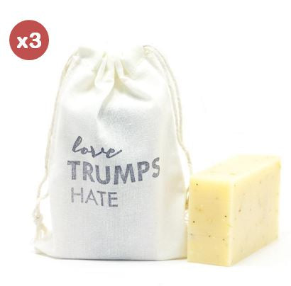 pick 3: love + soap