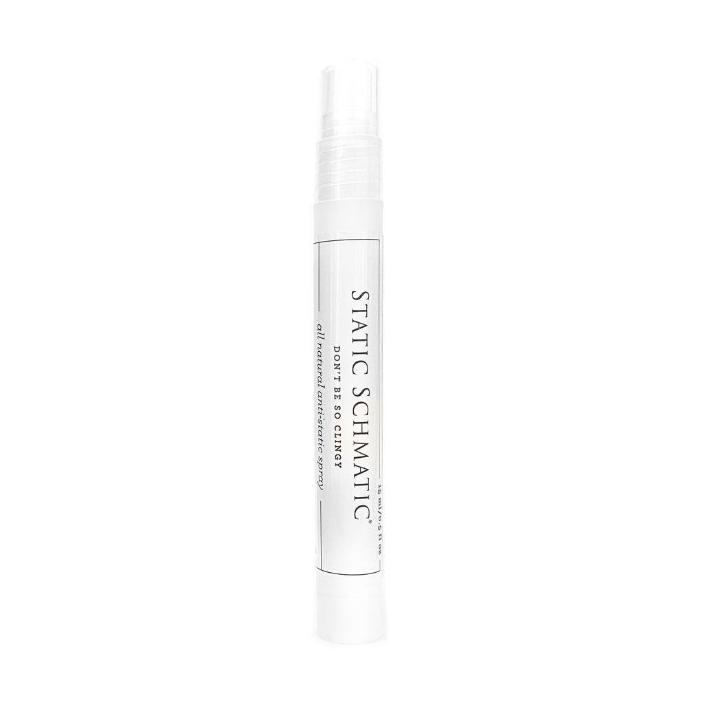 Product image Static Schmatic Purse Size Spray Pen Travel Size all natural static reducer anti-static static-free cling remover spray flyaway tamer smooth guard clean beauty