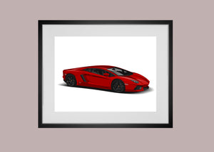 Custom Vehicle Vector art