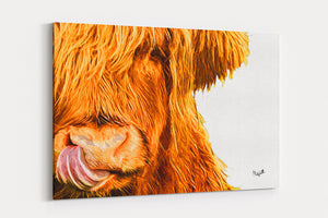 Honey A4 Canvas Print