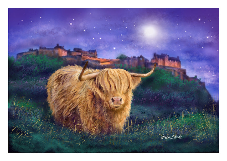 A4 Art Prints Magical Edinburgh