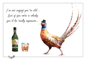A4 Art Print Old Whisky