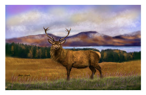 A4 Art Print Prince of the Highlands