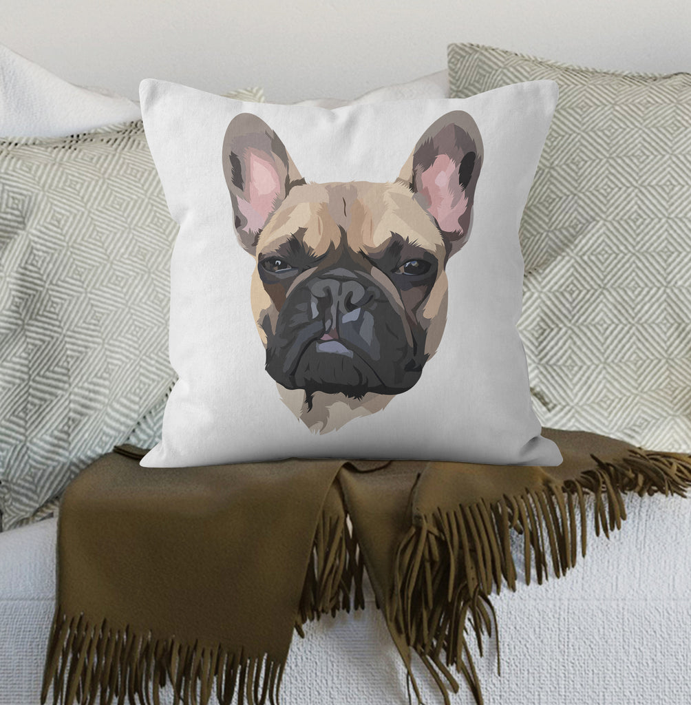 Custom Pet portrait Cushion (with existing bespoke portrait by us)