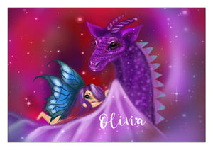 NEW Personalised Mystical Fairy & Dragon