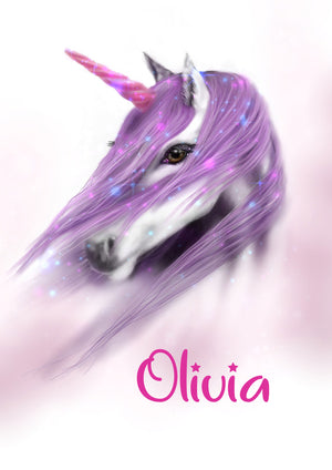 NEW Personalised Unicorn