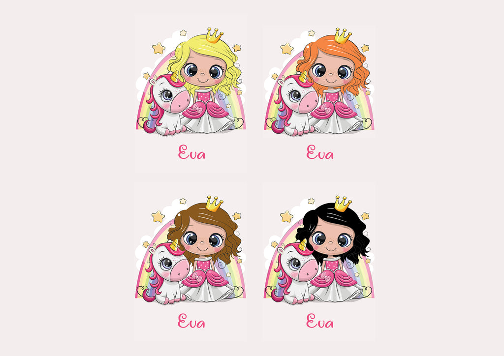 NEW Personalised Princess