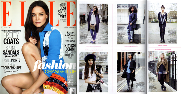 Spot finchittida finch in elle magazine street style this for Elle magazine this month