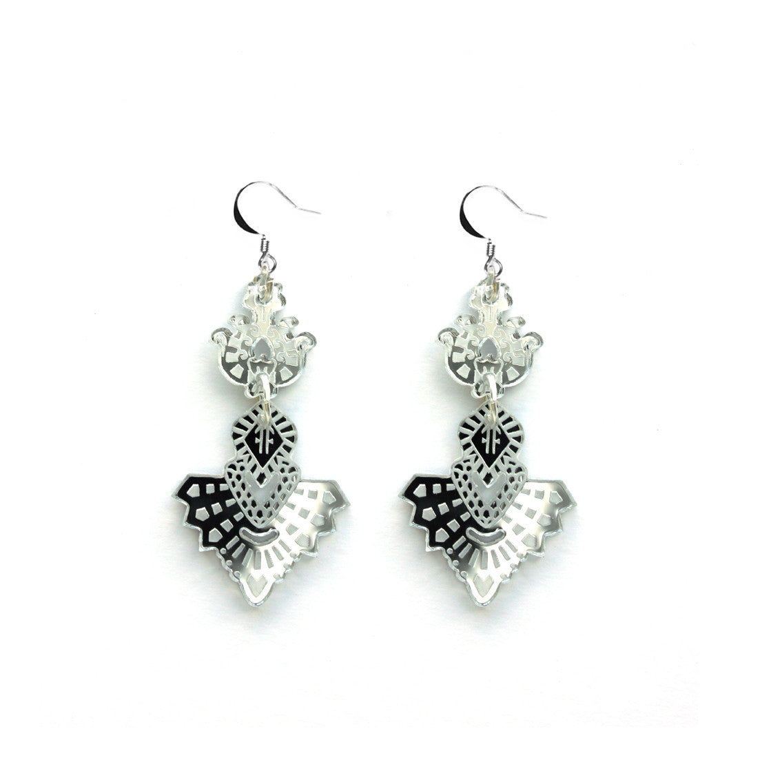 Mini Bodhi Earrings - Silver