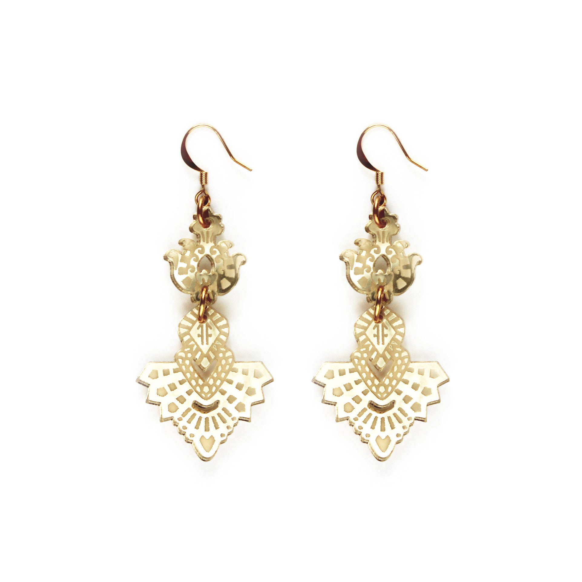 Mini Bodhi Earrings - gold